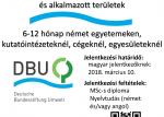 DBU  német környezetvédelmi ösztöndíj