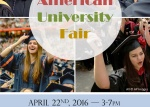 American University Fair - 2016. április 22.
