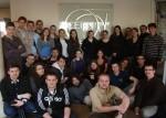 Jedlikes szakkollégisták a CERN-ben