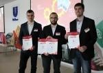 Dobogós helyezés az UNILEVER Mérnökök Ligája essettanulmányi versenyen (2016. március 30.)
