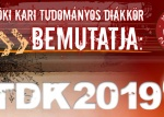 2019. évi tavaszi Kari TDK Konferencia