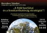 Tudomány a kocsmában - A Föld korlátai és a fenntarthatóság stratégiái