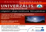 Univerzális Műhelyfoglalkozások - Farkas Alexandra: Légköri jégkristályok fényjátékai