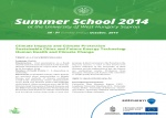 Summer School 2014 at the University West Hungary Sopron